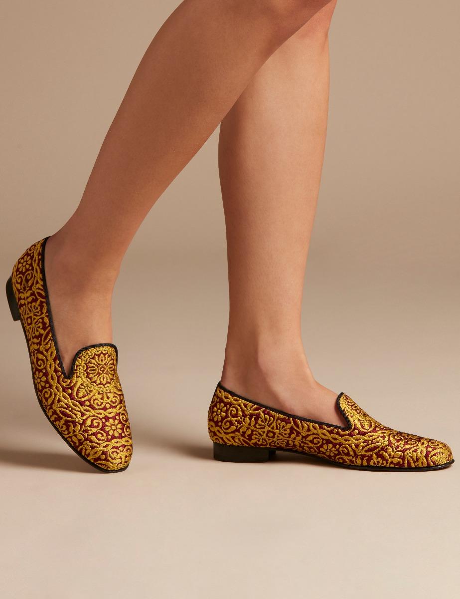 Shoes Penelope Chilvers D Island Slip On Mocasine Casual Brown Dandy Torero Slipper